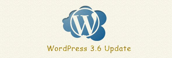 WordPress 3.6 Update